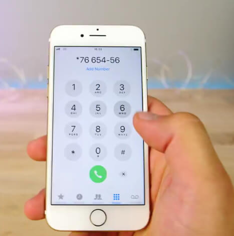 make phone calls on locked iphone
