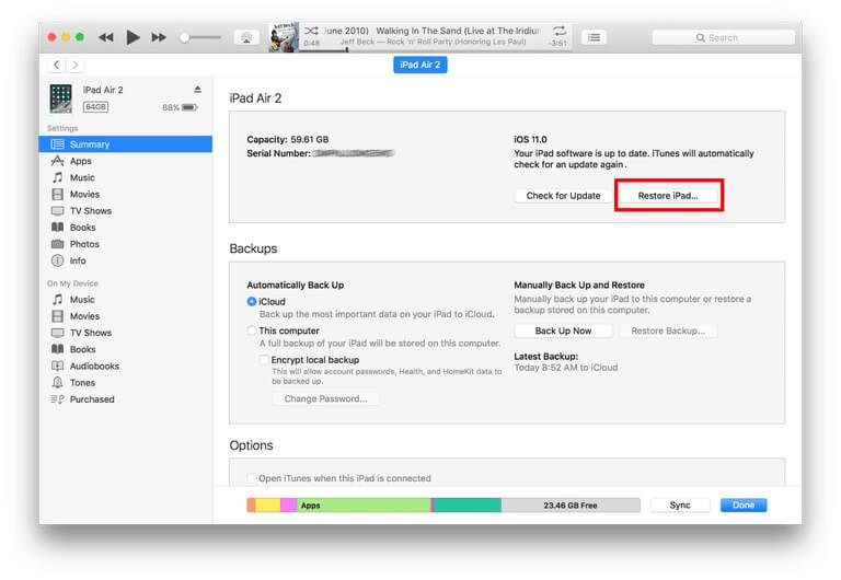 Top 3 Ways to Fix iPad Stuck on Verifying Update When Installing iOS
