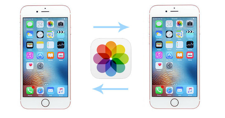 photo transfer between idevices
