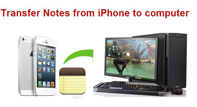 transfer iphone data to pc