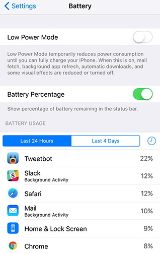 fix battery drain faster after ios 9.3.2 upgrade