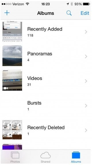 photos lost after ios 8 update