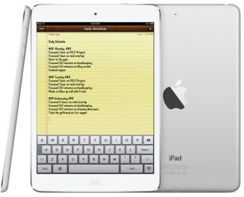 recover deleted ipad air notes