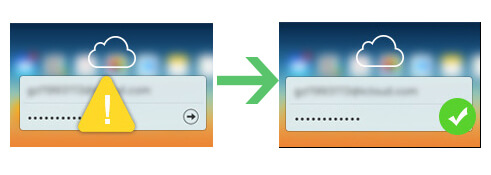recover icloud password from iphone
