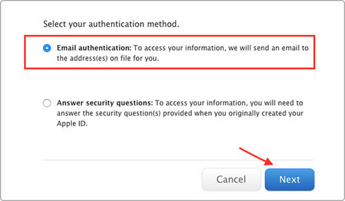 select email authentication