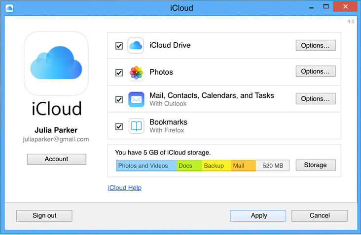 extract icloud files on windows mac