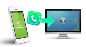 export whatsapp from iphone to pc
