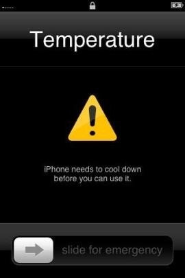 iphone is overheating