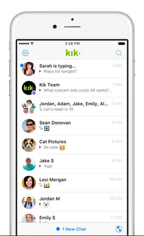 kik wont open chat