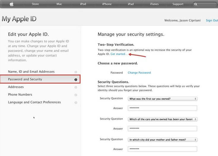 protect icloud photo stream