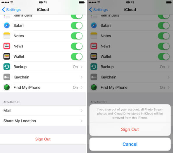 icloud backup could not be completed