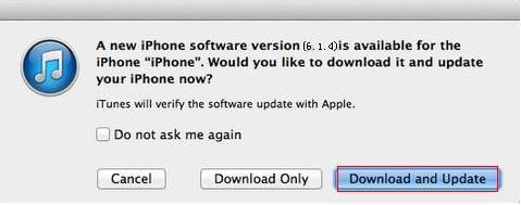 apple ios 6.1.4 update on iphone 5