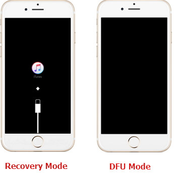 iPhone Recovery Mode and DFU Mode