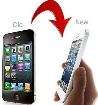 transfer iphone 4 to iphone 5
