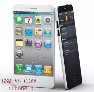 iphone 5 gsm vs iphone 5 cdma