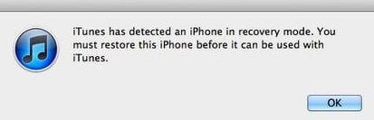 recover iphone data in recovery mode