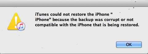 iphone cannot restore from backup after ios 7 update