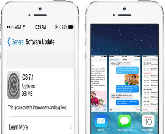 How to Recover Lost, Deleted iPhone 5S\/5C\/5\/4S\/4\/ Data after iOS 7.1 Update