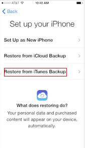 transfer old iphone data to iphone 5s