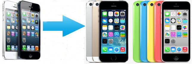 transfer old iphone data to iphone 5c