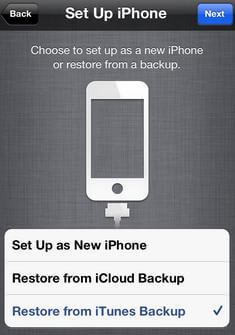 how to set up iphone 5 without sim