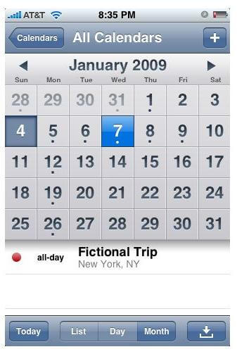 transfer iphone calendar to computer