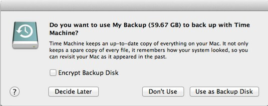 Backup Mac Hard Drive