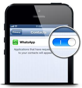 add whatsapp contacts iphone