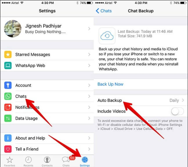 fix whatsapp crashing in ios 9